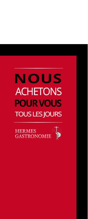 sticker Hermès gastronomie