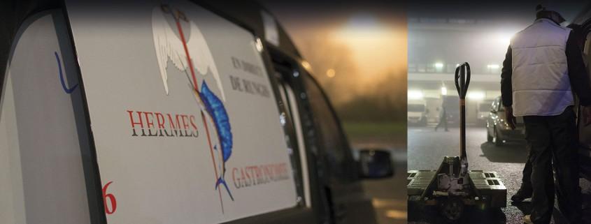 camion hermès gastronomie